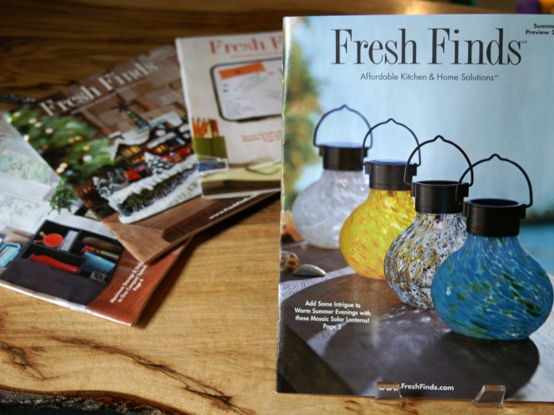 Fresh Finds catalog