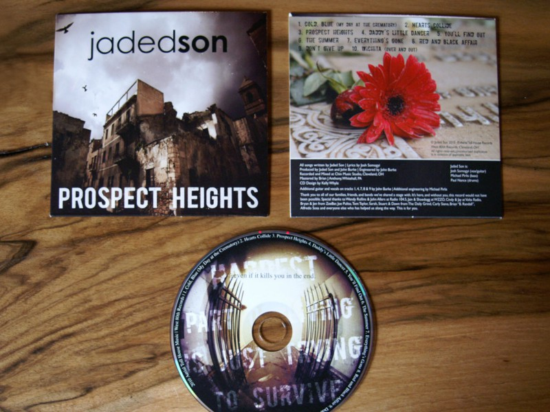 "Jaded Son ""Prospect Heights"" Album Design"
