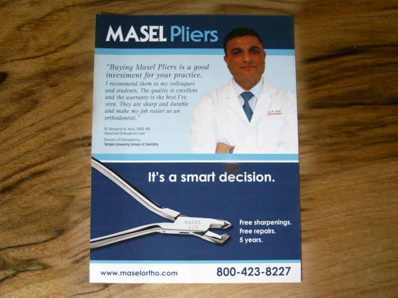MASEL Pliers Ad