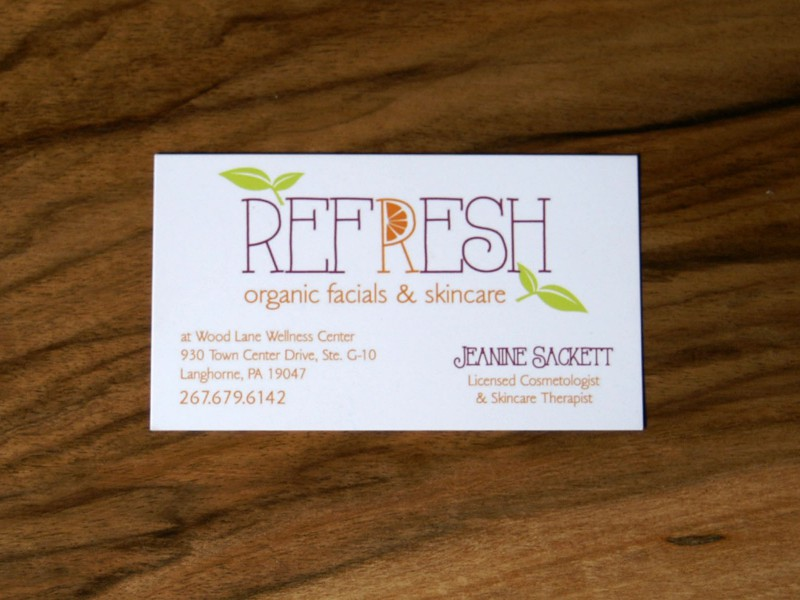 Refresh Business Card
